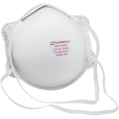 Protective Industrial Products 270-RPD513N95 Economy N95 Disposable Respirator - 20 Pack