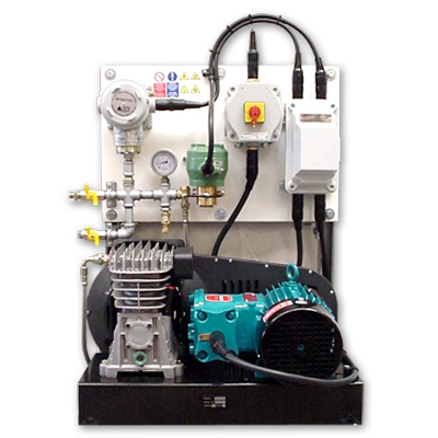 SEP6.8ZONE1/LPC flameproof air compressor