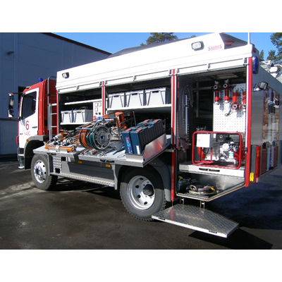 Sammutin Saurus RM rescue vehicle