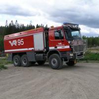 Sammutin Saurus RS rescue vehicle
