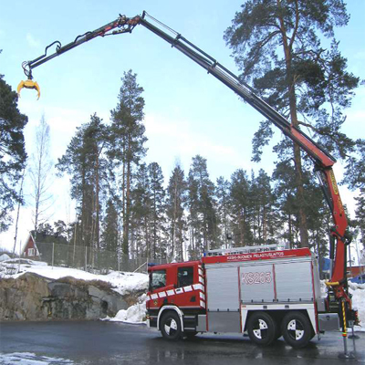 Sammutin Saurus RSC 20 rescue vehicle