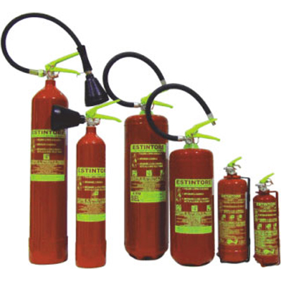 Sanal Corp SNL01-04 EN3 fire extinguisher