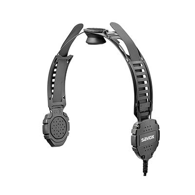 Savox Communications XG HC-2 dual speaker helmet-com unit