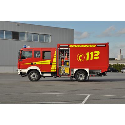 Schlingmann LF Logistics QUADRALINE vehicle body