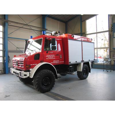 Schlingmann TLF 2000 Unimog U4000 universal fire truck