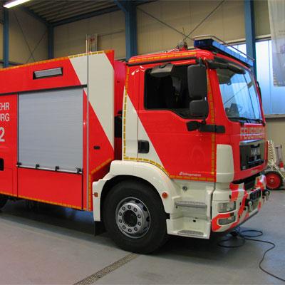 Schlingmann TLF 4000 GRP universal standard truck