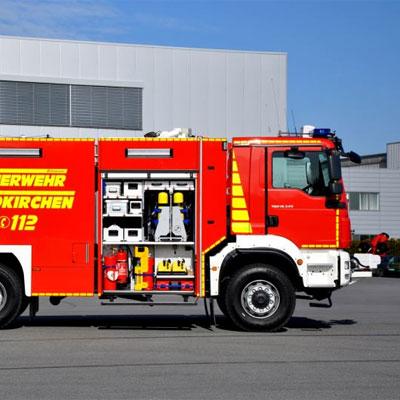 Schlingmann TLF 4000 module universal standard truck
