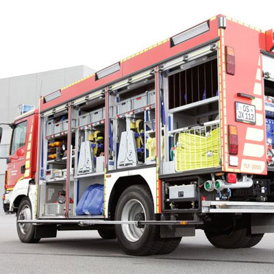 Schlingmann TLF 4000 QuadraVA universal standard truck