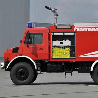 Schlingmann TLF 4000 Unimog U5000 universal standard truck