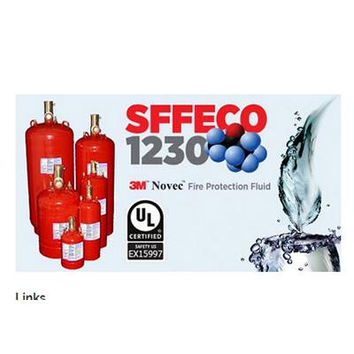 SFFECO 1230 3M novec fire suppression system