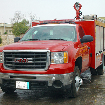 SFFECO Hawk Series I 1500L water tank capacity fire fighting appartus