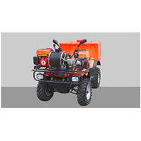 SFFECO Road Runner 400L water tank capacity fire extinguishing system