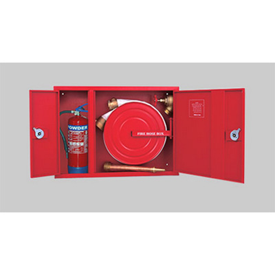 SFFECO SF4200 hose reel and extinguisher cabinet