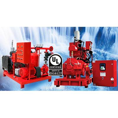 SFFECO SFS 125/38 horizontal split case pump