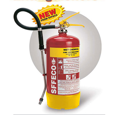 SFFECO SKF6 wet chemical extinguisher