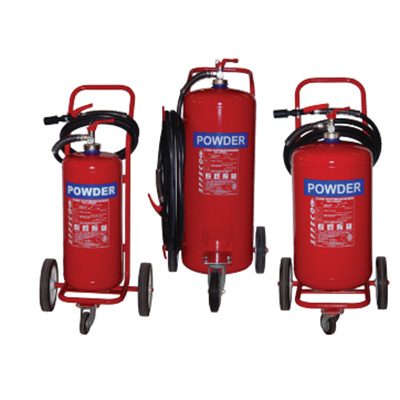 SFFECO TDPS100 mobile dry powder extinguisher