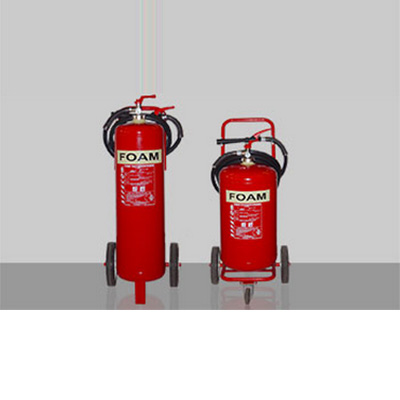 SFFECO TF50 stores pressure mobile foam extinguisher