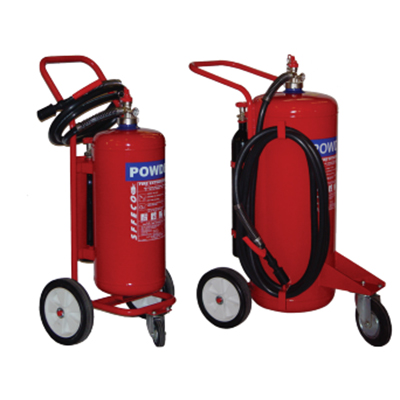 SFFECO TPCS75 mobile dry powder extinguisher