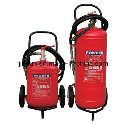 Shanghai Jindun Fire-Fighting Security Equipment JDFE0825 trolley powder fire extinguisher