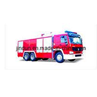 Shanghai Jindun Fire-Fighting Security Equipment JDX5260GXFPM100 water tank fire fighting truck
