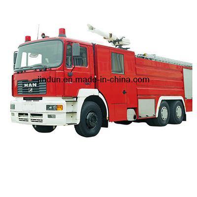 Shanghai Jindun Fire-Fighting Security Equipment JDX5320GXFSG150M water tank fire  vehicle