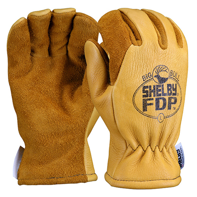 Shelby 5282G structural firefighting glove