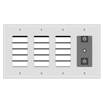 Silent Knight 5865-4 LED fire annunciator