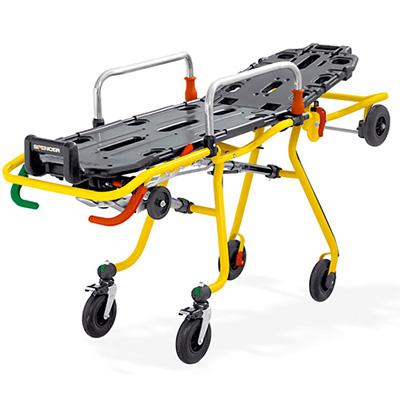 Spencer Italia Cross roll-in stretcher trolley