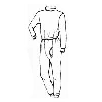 Stanfields NOM100TNBK fire protective shirt