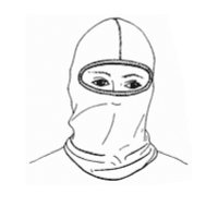Stanfields NOM21BKSE fire protective hood