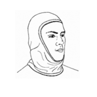 Stanfields NOM21FF fire protective hood