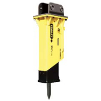 Stanley Hydraulic Tools MBX138 hydraulic housed breaker