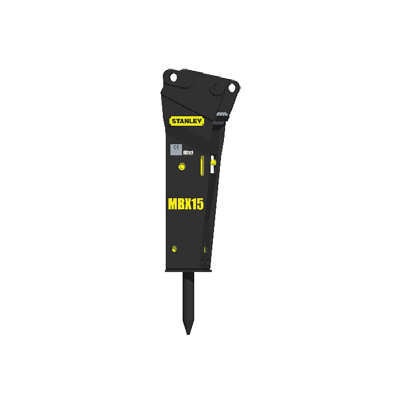 Stanley Hydraulic Tools MBX15 hydraulic small mounted breaker
