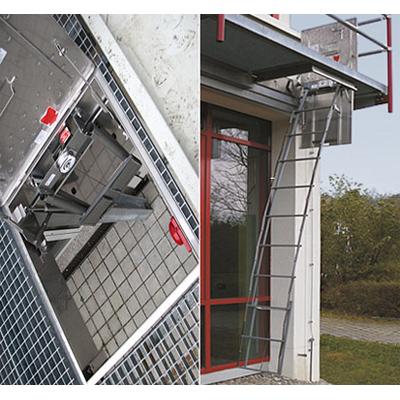 STEIGTEC SEKUTELtelescopic emergency ladder