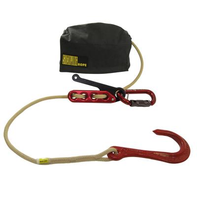 Sterling Rope F4 FireTech System w/ Crosby Hook fire rescue kit