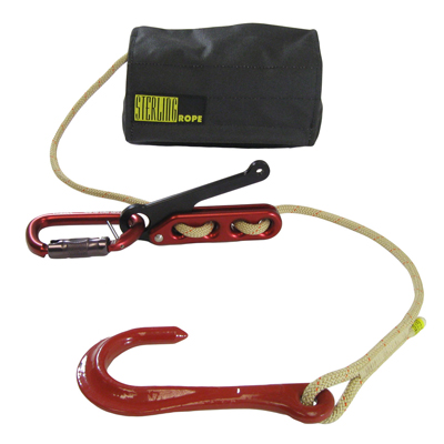Sterling Rope F4 SafeTech System w/ Crosby hook fire rescue kit