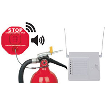 STI STI 6200WIR8 wireless fire extinguisher theft stopper