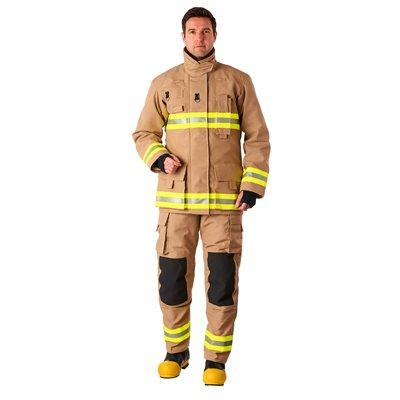 Bristol Uniforms NE2/O_XR2DE and TNE2/N_XR2DE Stock Ergotech Action NFPA firefighting structural coat and trouser