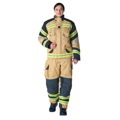 Bristol Uniforms XF1/AM_PX1YG and TXF1/AI_PX1YG Stock XFlex firefighting structural coat and trouser