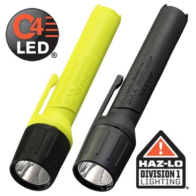 Streamlight 2AA ProPolymer alakaline batttery powered flashlight