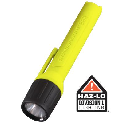 Streamlight 2AA ProPolymer Xenon alakaline battery powered flashlight