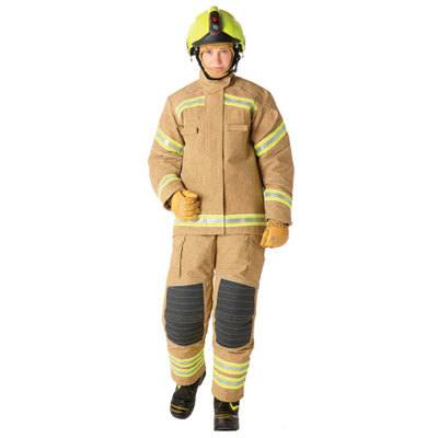 Bristol Uniforms LTXF2/A_PR2YG and LXF2/A_PR2YG firefighting structural coat and trouser (female)