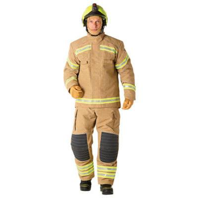 Bristol Uniforms TXF2/A_PR2YG and XF2/A_PR2YG firefighting structural coat and trouser (male)
