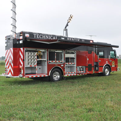 SVI Trucks BC Fire & Rescue Services – Hazmat