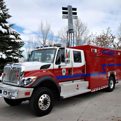 SVI Trucks De Beque, CO – Medium Rescue truck
