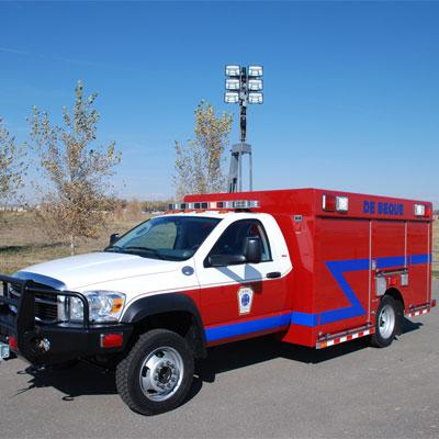 SVI Trucks Debeque, CO FD – Light Rescue truck