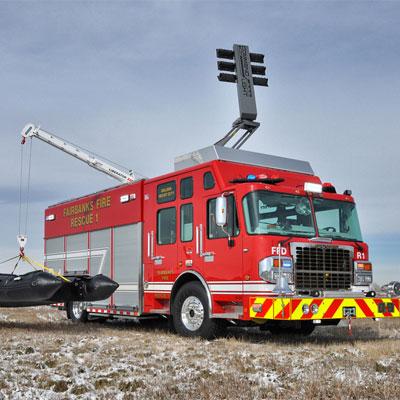 SVI Trucks Fairbanks Fire Department – Heavy Rescue