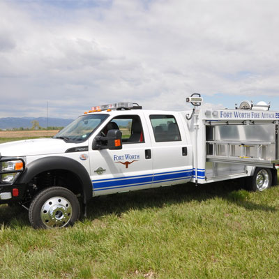 SVI Trucks Fort Worth, TX – Quick Attack fire brush truck