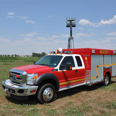 SVI Trucks Fredericton FD – Light Rescue truck