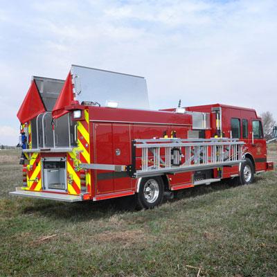 SVI Trucks Greeley, CO FD – Pumper truck